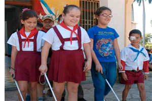 Visually Impaired Children Hold their First Artistic Festival