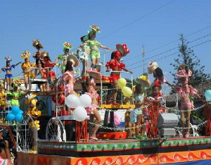 Carnival in Florida will be held from May 16 to 18