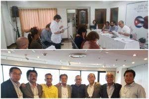 Cuban Diplomats in Japan Debate Draft Constitution